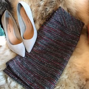 Tweed Loft Pencil Skirt